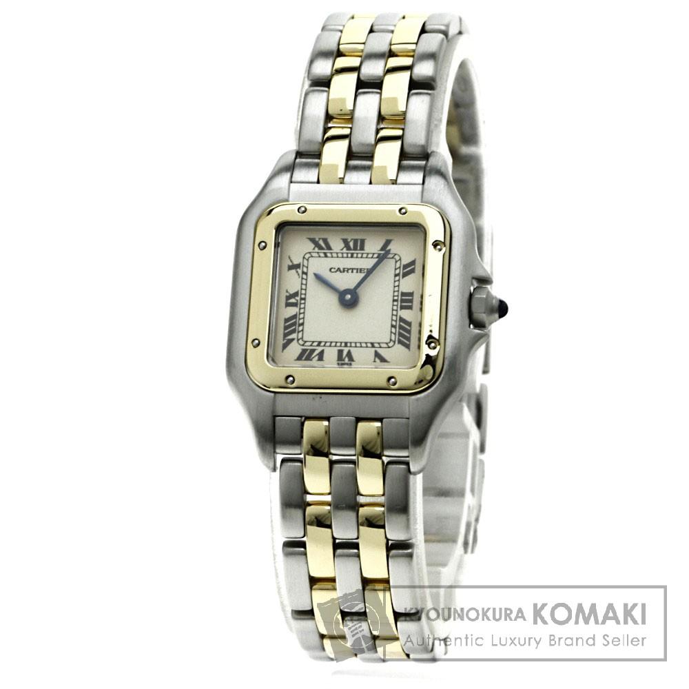CARTIER パンテールSM 腕時計 K18イエローゴールド/SS レディース 【中古】【カルティエ】