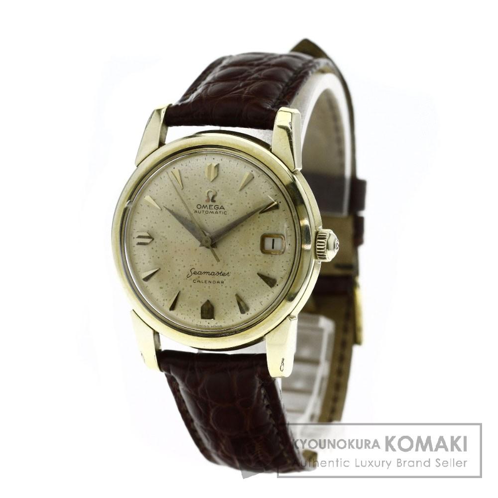 OMEGA 2849 シーマスター アンティーク 腕時計 GP/革 メンズ 【中古】【オメガ】