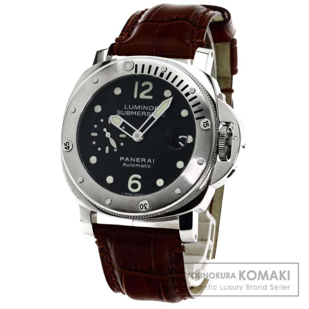 PANERAI PAN00024 ルミノール サブマーシブル 腕時計 ステンレス/革 メンズ 【中古】【パネライ】