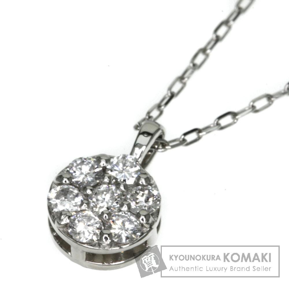 0.21ct ダイヤモンド ネックレス プラチナPT900/PT850 1.8g レディース 【中古】