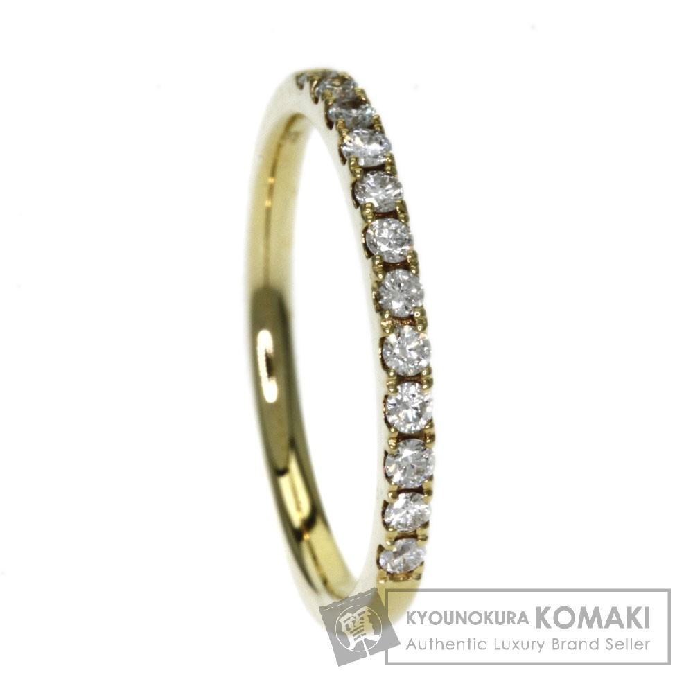 0.22ct ダイヤモンド リング・指輪 K18イエローゴールド 1.8g レディース 【中古】
