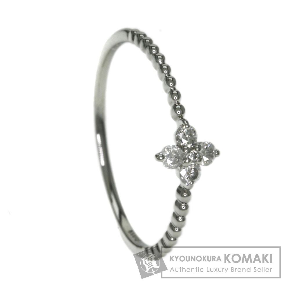 0.12ct ダイヤモンド リング・指輪 プラチナPT900 1g レディース 【中古】
