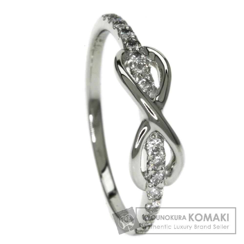 0.21ct ダイヤモンド リング・指輪 プラチナPT900 2.5g レディース 【中古】