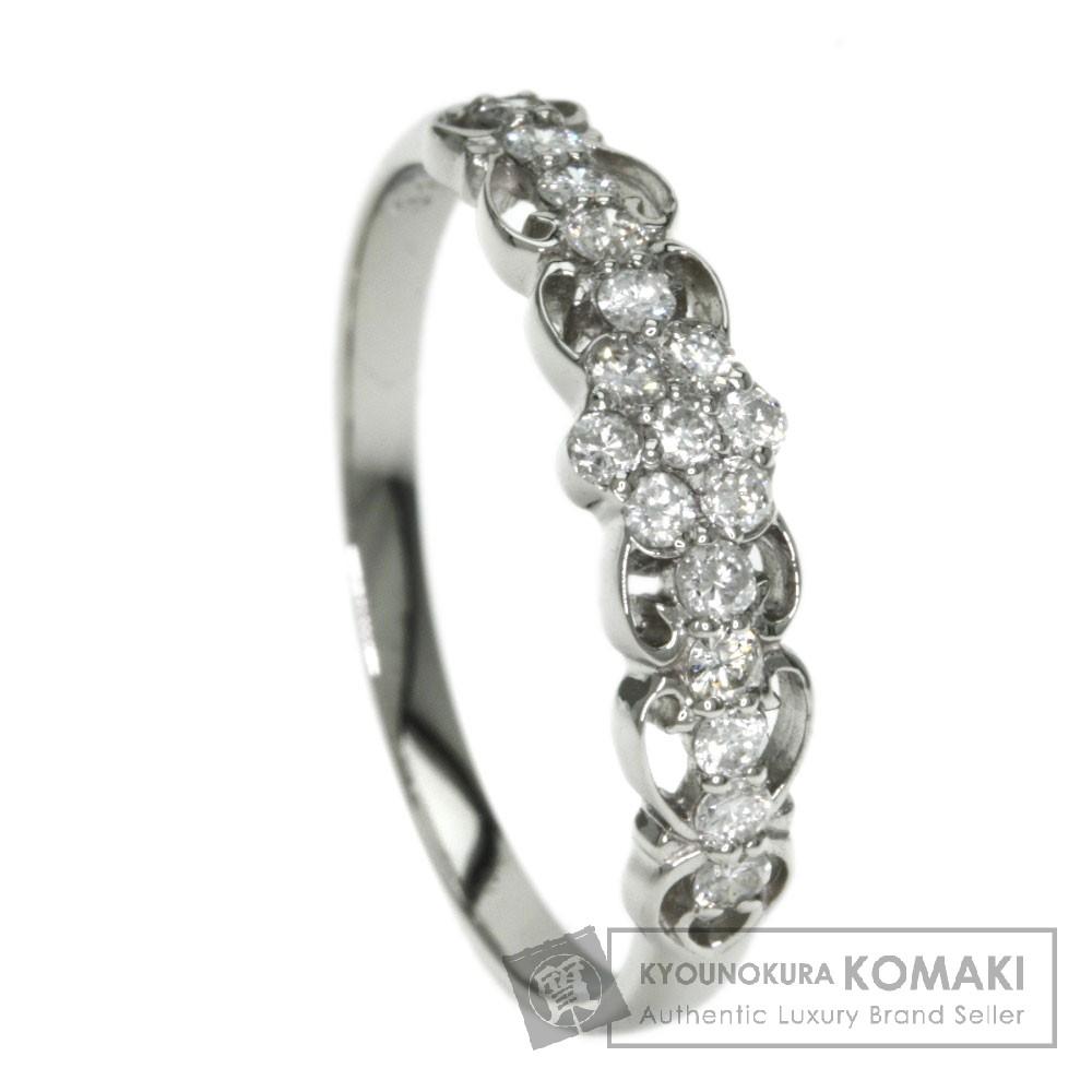 0.30ct ダイヤモンド リング・指輪 プラチナPT900 2g レディース 【中古】