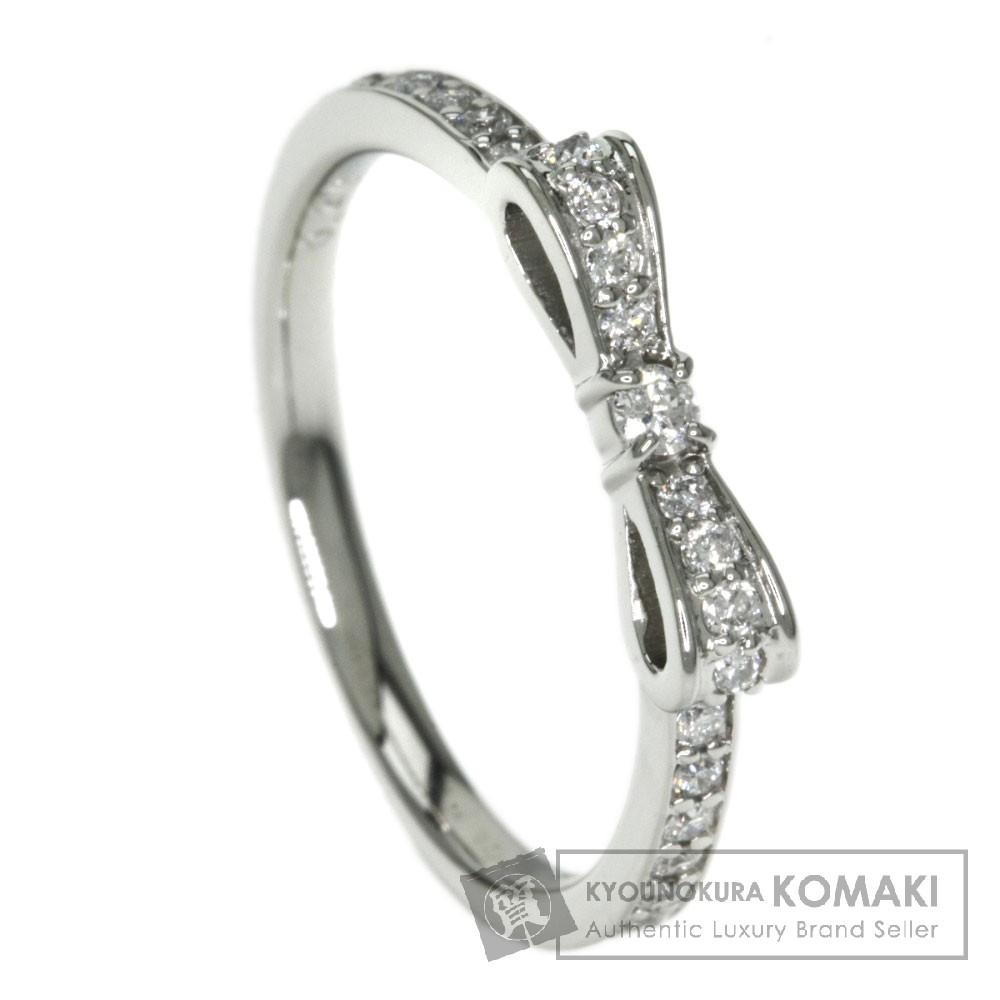 0.20ct ダイヤモンド リング・指輪 プラチナPT900 3.1g レディース 【中古】