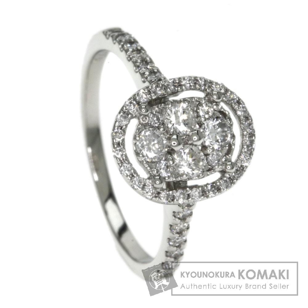0.54ct ダイヤモンド リング・指輪 プラチナPT900 3.3g レディース 【中古】