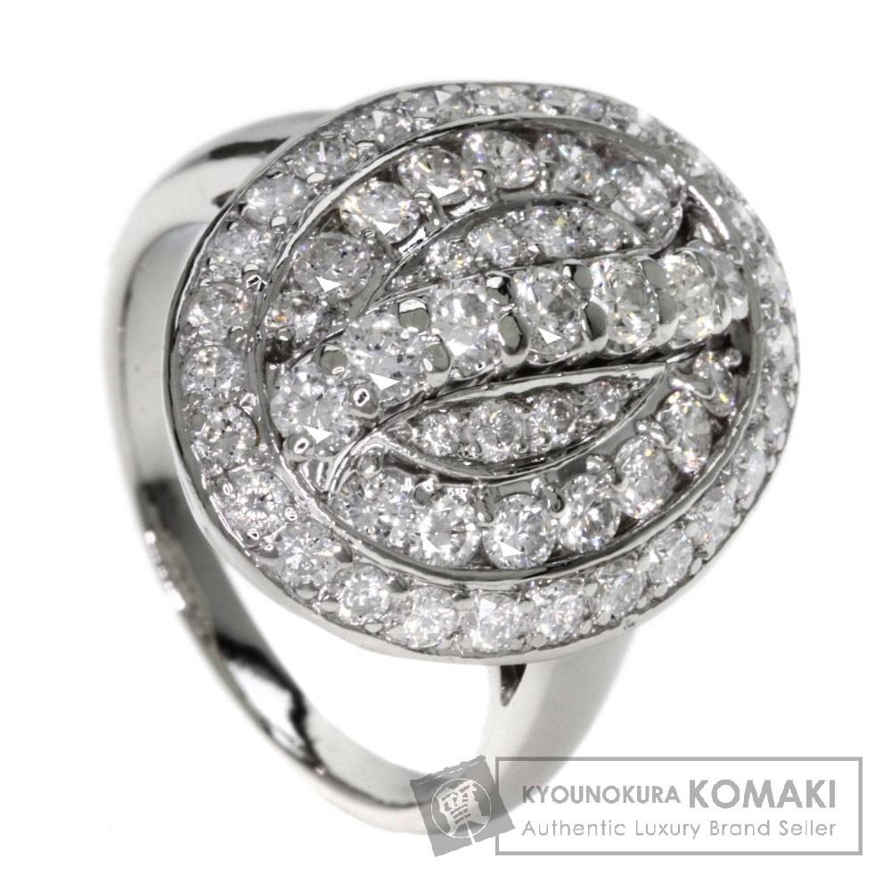 2.00ct ダイヤモンド リング・指輪 プラチナPT900 12.4g レディース 【中古】