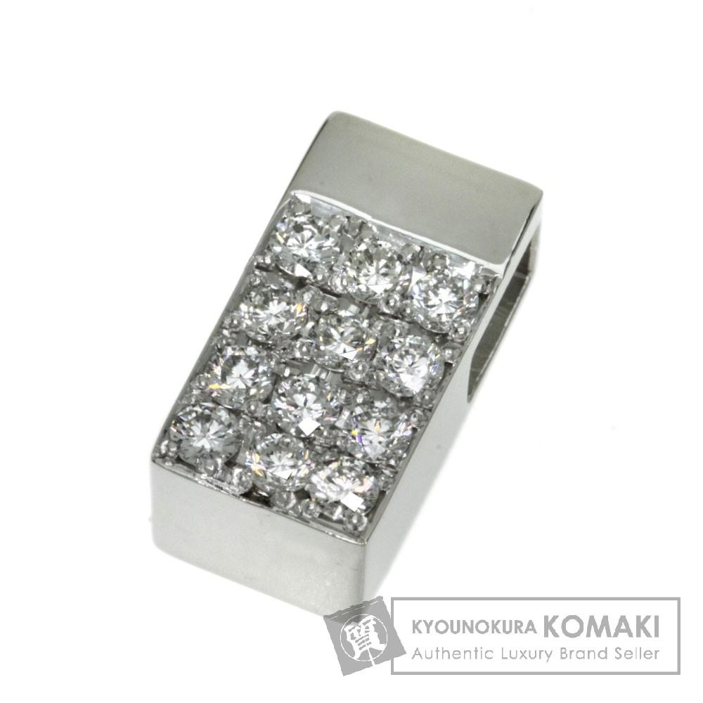 0.57ct ダイヤモンド ペンダント プラチナPT900 4.9g レディース 【中古】
