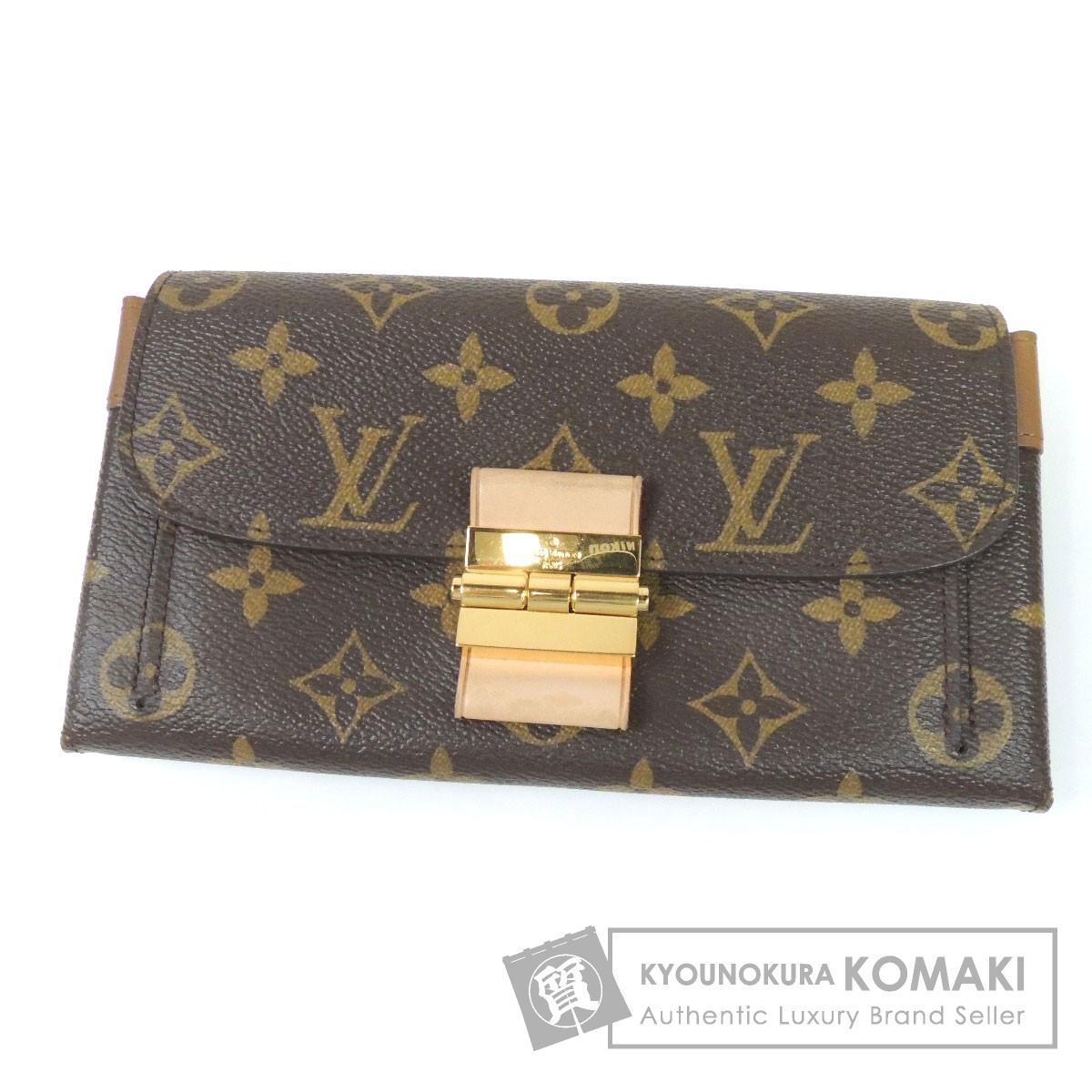 LOUIS VUITTON M60505 エリゼ 長財布(小銭入れあり) モノグラムキャンバス レディース 【中古】【ルイ・ヴィトン】