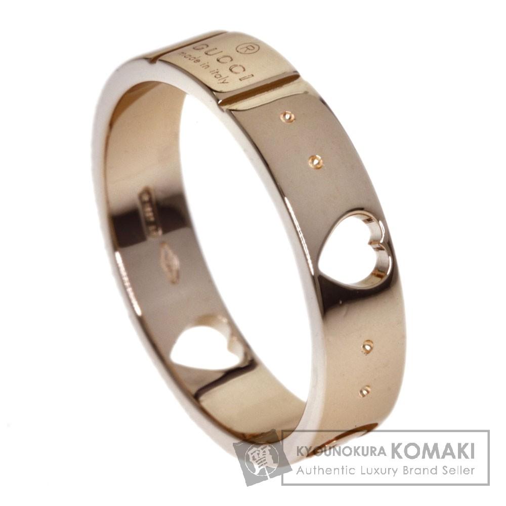リング・指輪 【中古】 K18ピンクゴールド GUCCI 【グッチ】 アイコンリング レディース