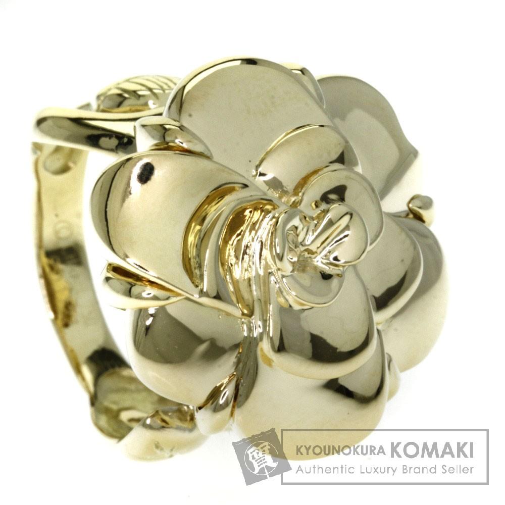 CHANEL カメリア リング・指輪 K18イエローゴールド レディース 【中古】【シャネル】