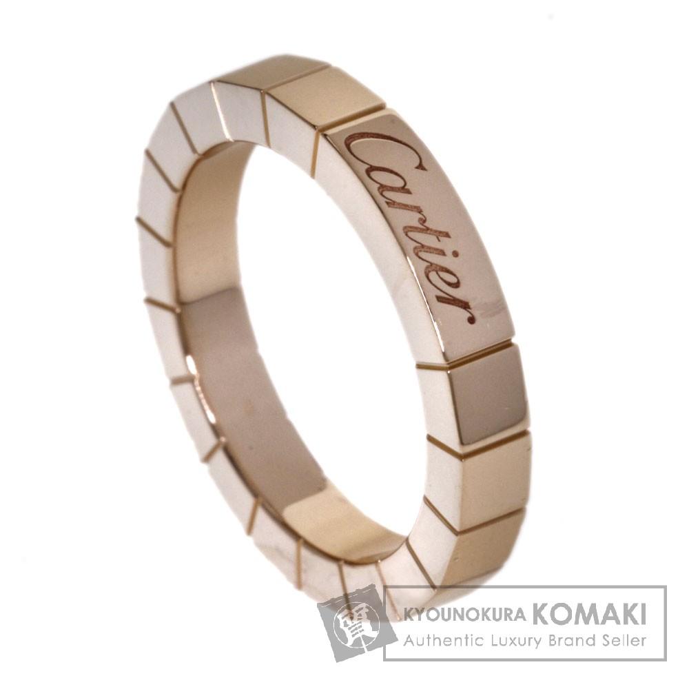 CARTIER ラニエール リング・指輪 K18ピンクゴールド レディース 【中古】【カルティエ】