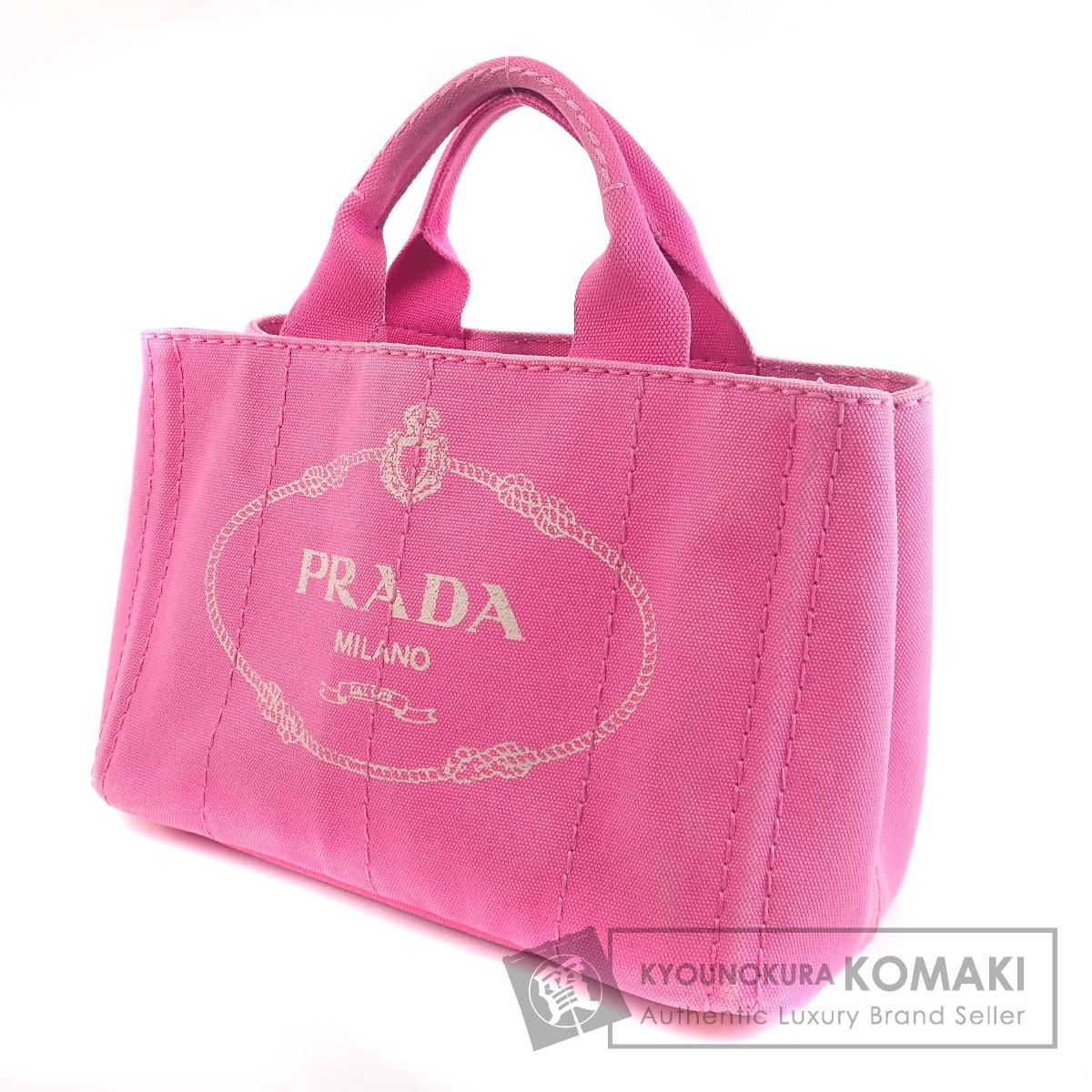 PRADA カナパ BN2439 トートバッグ キャンバス レディース 【中古】【プラダ】