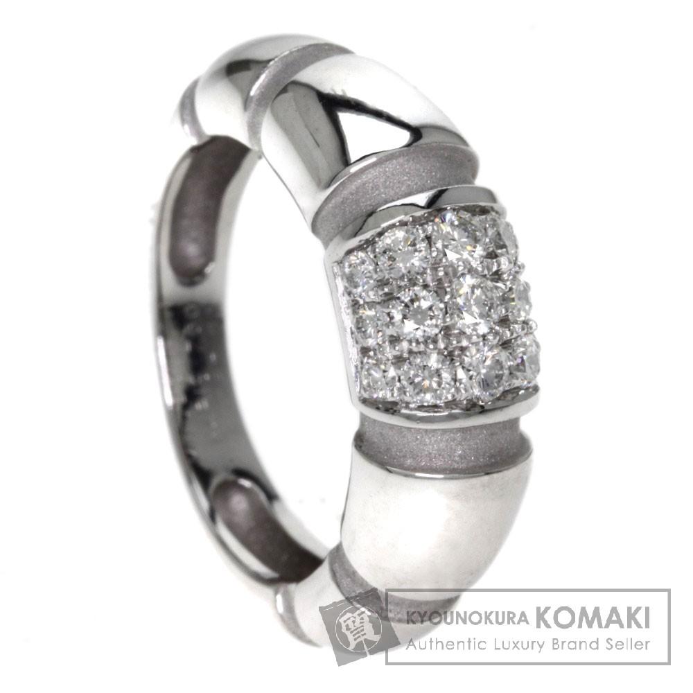 MAUBOUSSIN ダイヤモンド リング・指輪 K18ホワイトゴールド レディース 【中古】【モーブッサン】