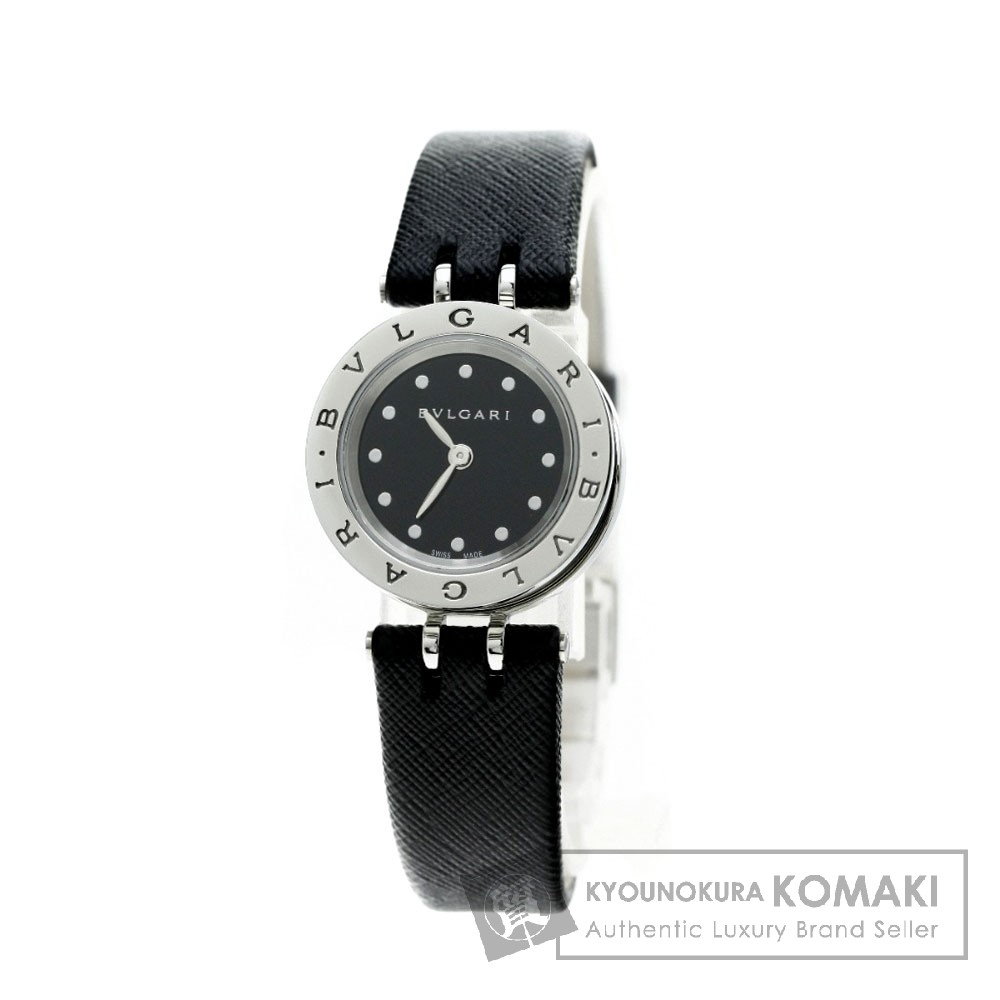 BVLGARI BZ23BSCL B-zero1 腕時計 ステンレス/革 レディース 【中古】【ブルガリ】
