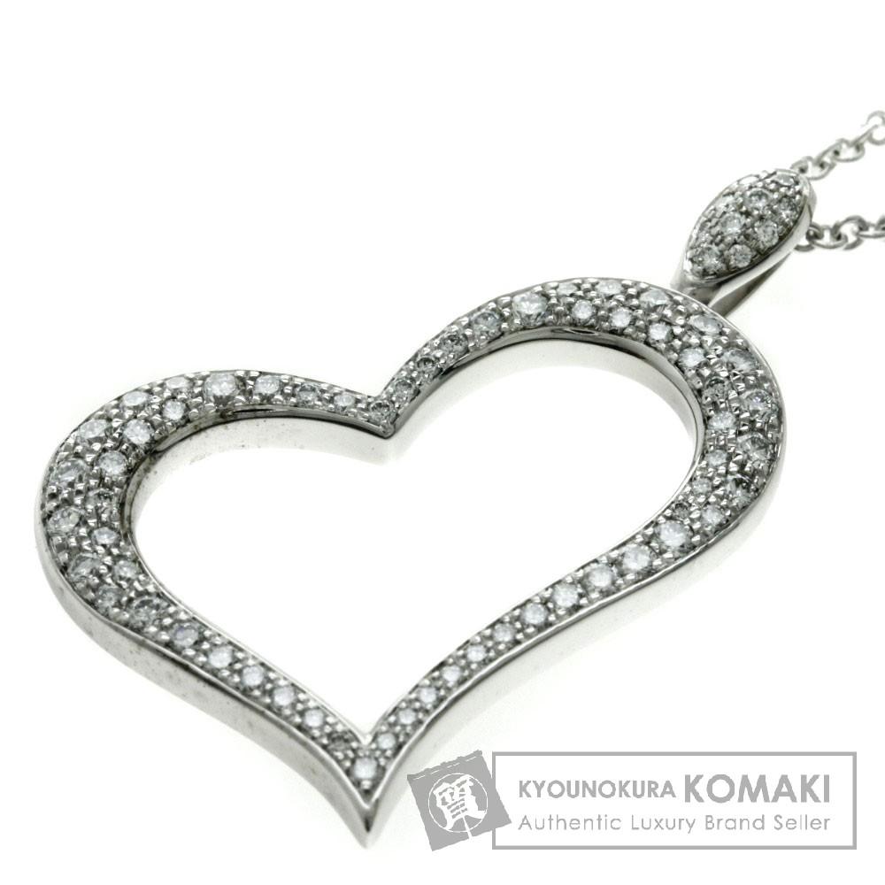 PIAGET ライムライトスモール ダイヤモンド ネックレス K18ホワイトゴールド レディース 【中古】【ピアジェ】