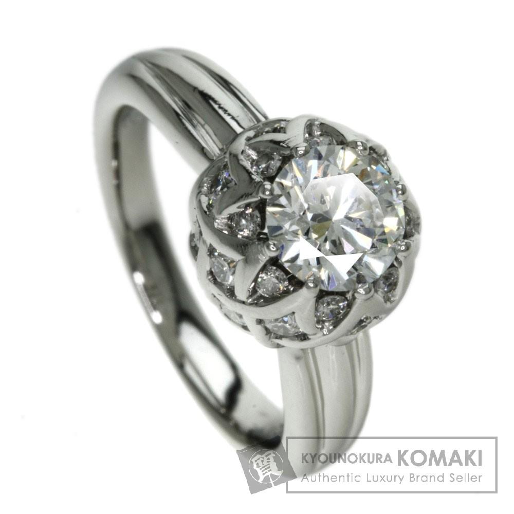 LAZAREKAPLAN ダイヤモンド/マルチカラーストーン リング・指輪 プラチナPT950 レディース 【中古】【ラザールキャプラン】