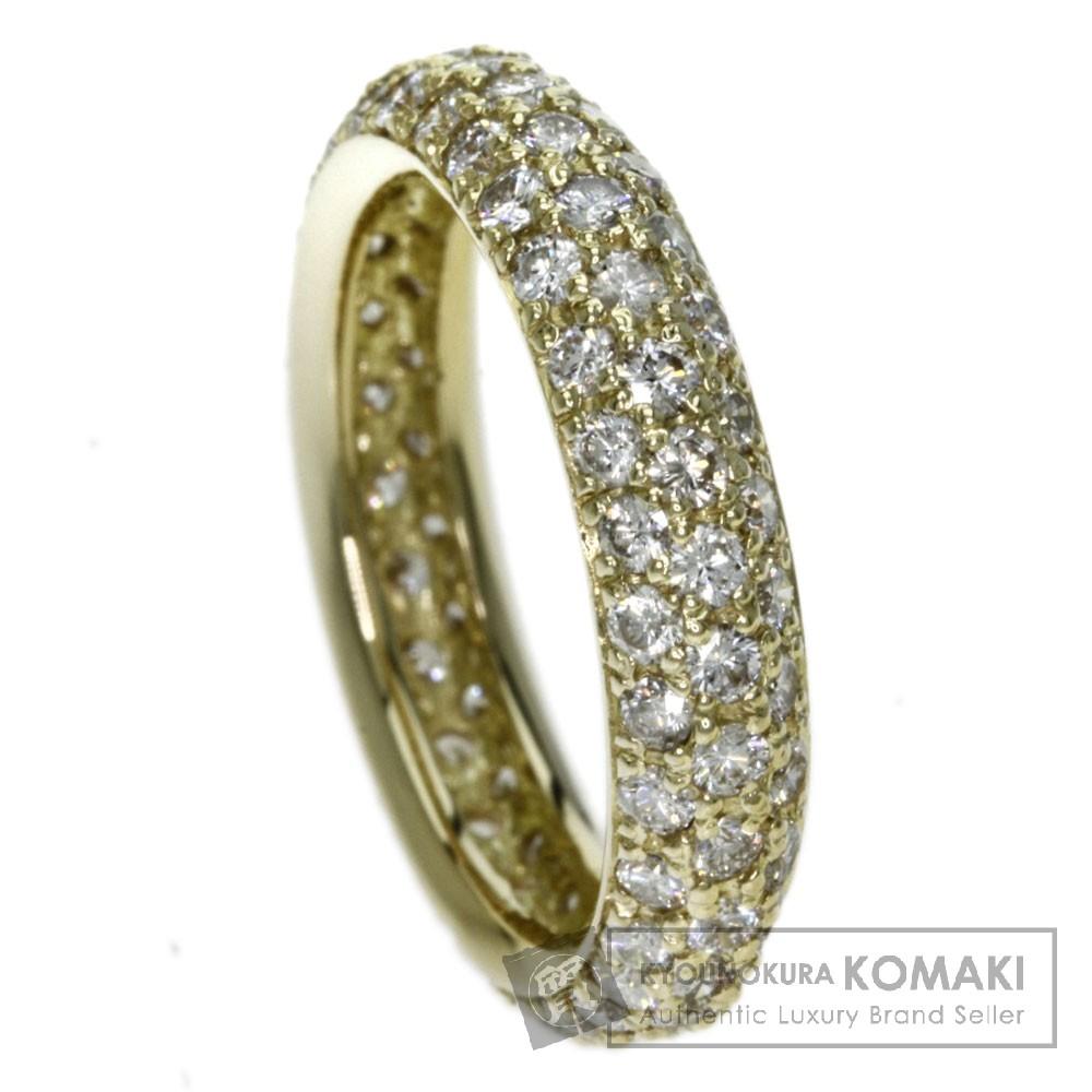 1.8ct ダイヤモンド リング・指輪 K18イエローゴールド 4.2g レディース 【中古】