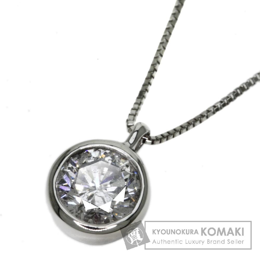 1.032ct ダイヤモンド ネックレス プラチナPT900/PT850 3.1g レディース 【中古】