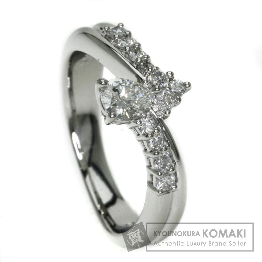 0.303ct ダイヤモンド リング・指輪 プラチナPT900 6.9g レディース 【中古】