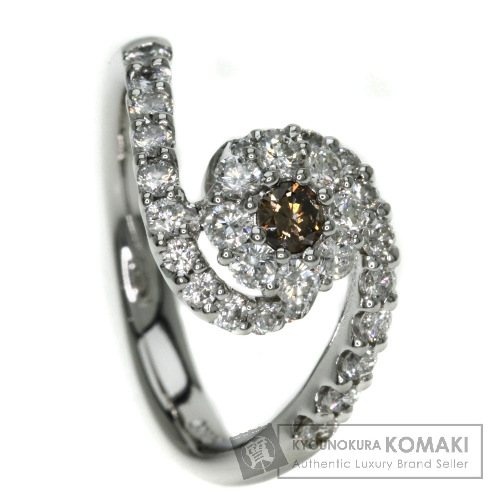 0.8ct ダイヤモンド リング・指輪 プラチナPT900 6g レディース 【中古】