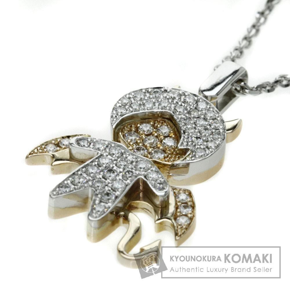Bertani Co. ダイヤモンド ネックレス K18ホワイトゴールド/K18PG/K18YG レディース 【中古】【ベルターニ】