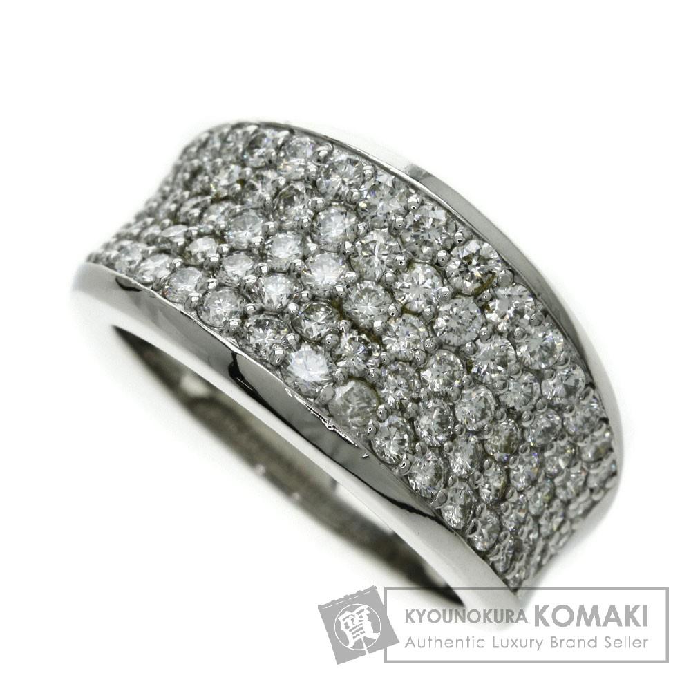 1.50ct ダイヤモンド リング・指輪 プラチナPT900 11.5g レディース 【中古】