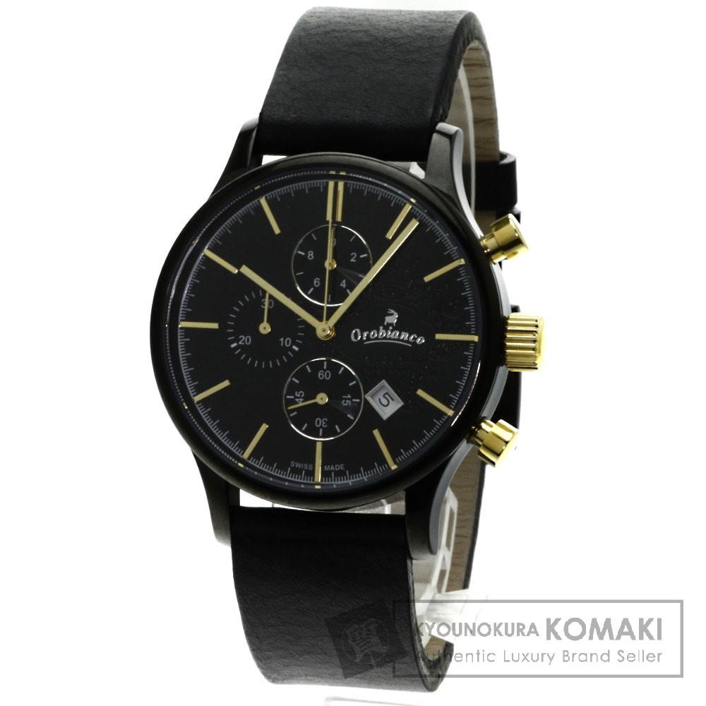 OROBIANCO クロノグラフ 腕時計 ステンレス/ラバー メンズ 【中古】【オロビアンコ】