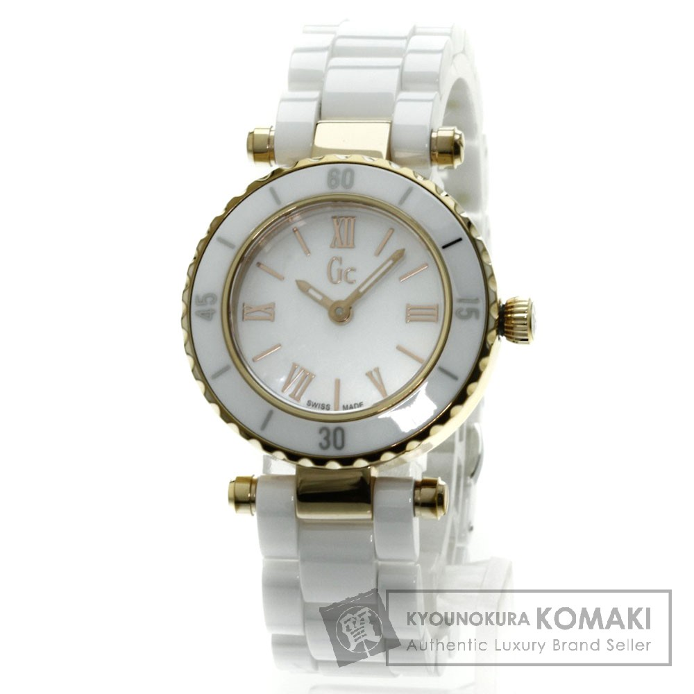 GC X70011L1S/05 Mini Chic 腕時計 PGP/セラミック レディース 【中古】【ジーシー】