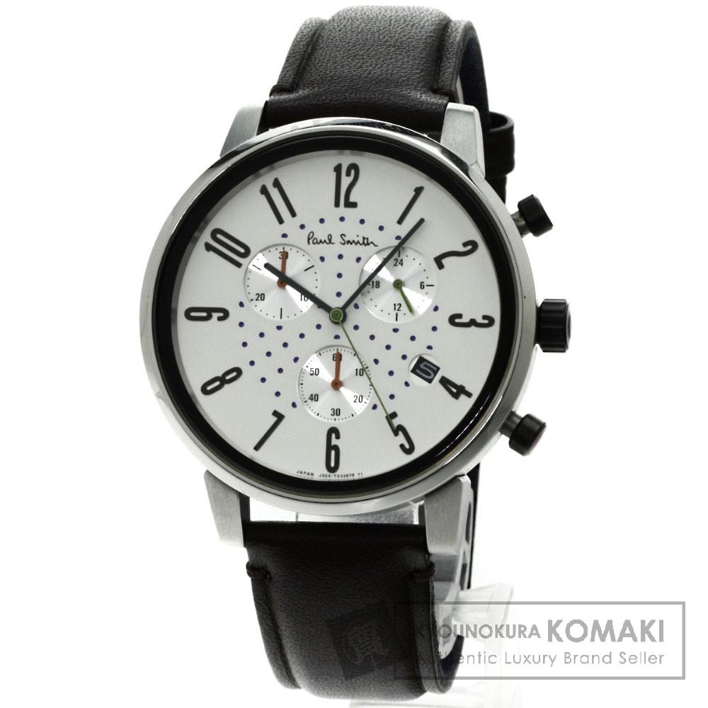Paul Smith J505-T021301 腕時計 ステンレス/革 メンズ 【中古】【ポール・スミス】