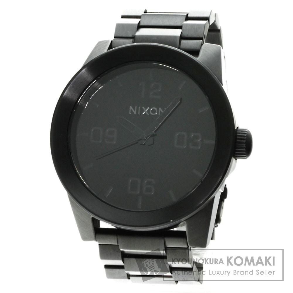 Nixon アラビア数字 腕時計 ステンレス メンズ 【中古】【ニクソン】