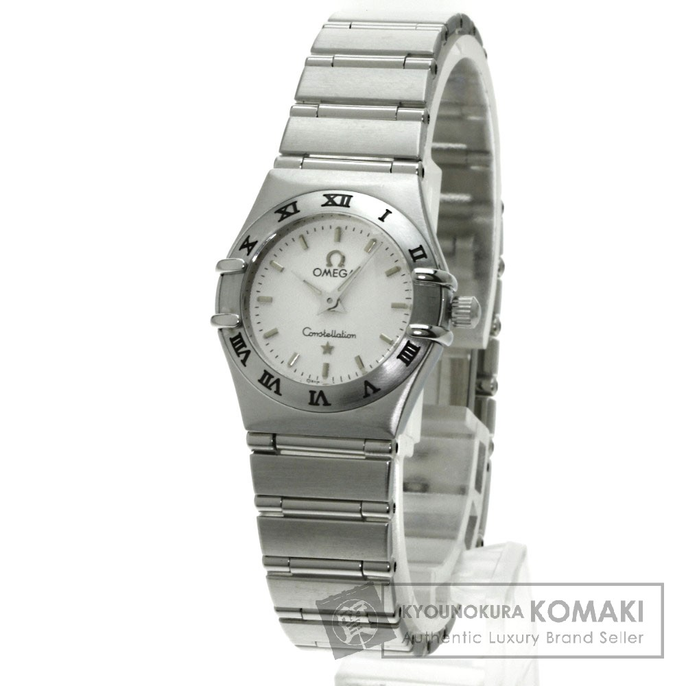 OMEGA 1562.30 コンステレーション ミニ 腕時計 OH済 ステンレス レディース 【中古】【オメガ】