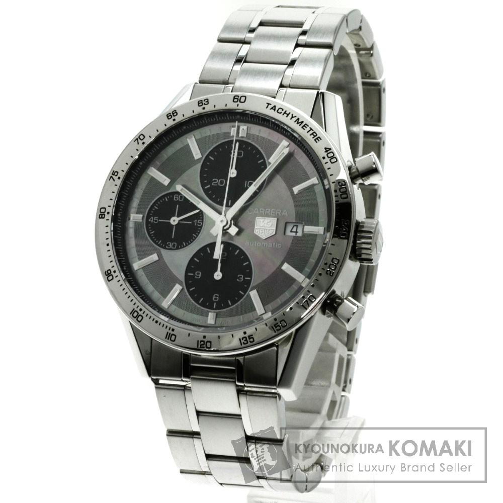 TAG HEUER CV201P-0 カレラ クロノグラフ ワンショットモデル 腕時計 ステンレス メンズ 【中古】【タグホイヤー】