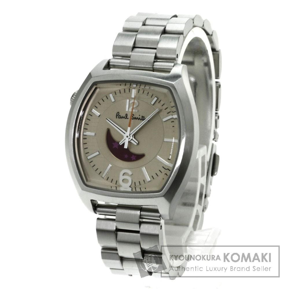 Paul Smith ナンバームーン 腕時計 ステンレス レディース 【中古】【ポール・スミス】