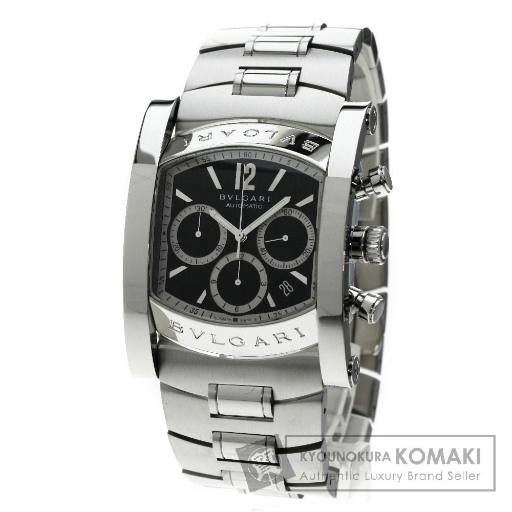 BVLGARI AA48BSSDCH アショーマ 腕時計 OH済 ステンレス メンズ 【中古】【ブルガリ】