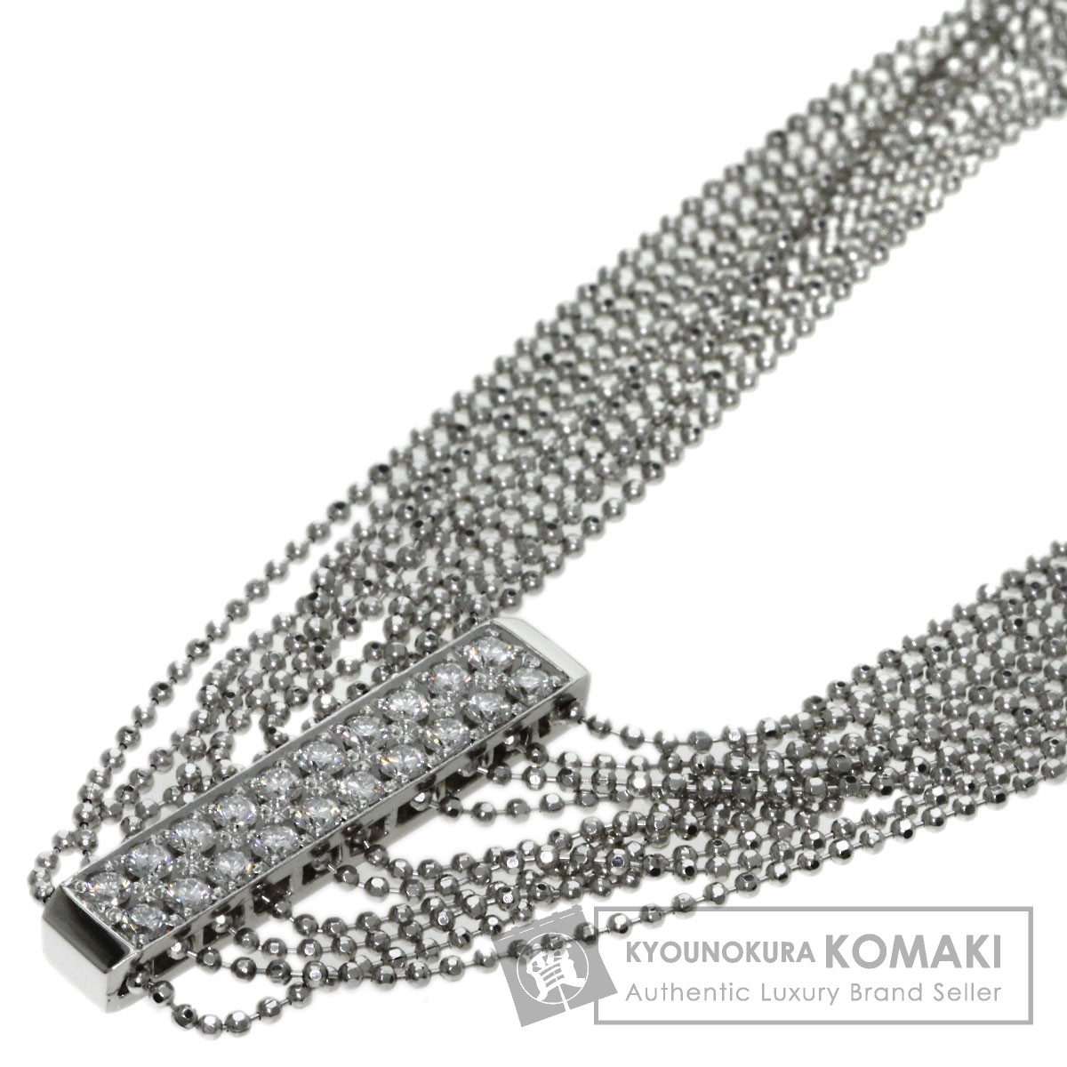 star sand ダイヤモンド ネックレス プラチナPT900 レディース 【中古】【星の砂】