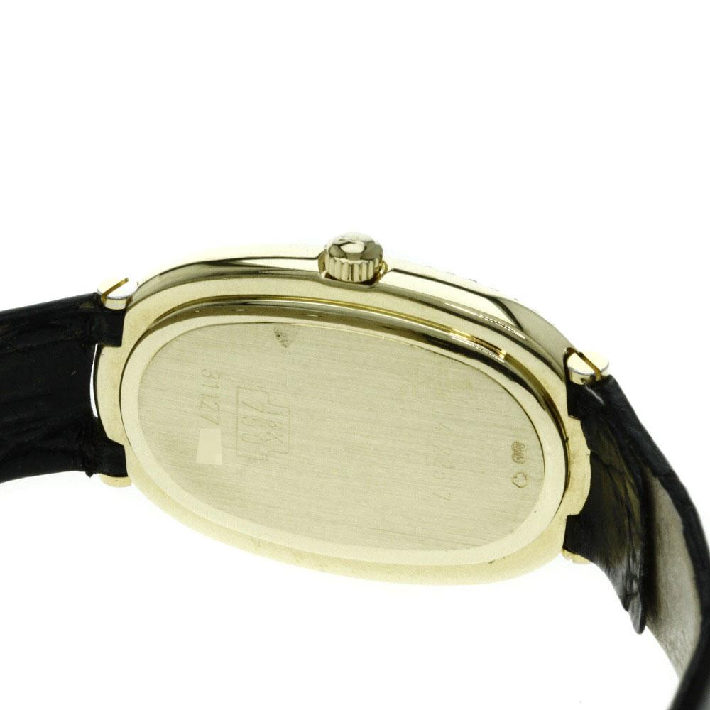 LONGINES L4.225.7 ダイヤモンド 腕時計 K18イエローゴールド/アリゲーター レディース 【】【ロンジン】
