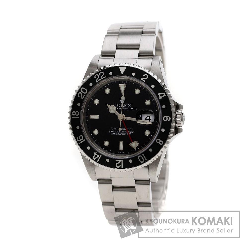 ROLEX 16700 GMTマスター 最終品番 腕時計 ステンレス メンズ 【中古】【ロレックス】