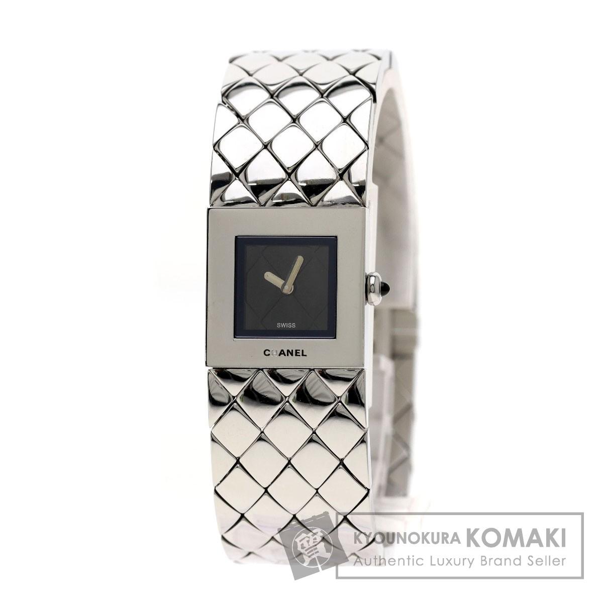 CHANEL H0009 マトラッセ 腕時計 ステンレス レディース 【中古】【シャネル】