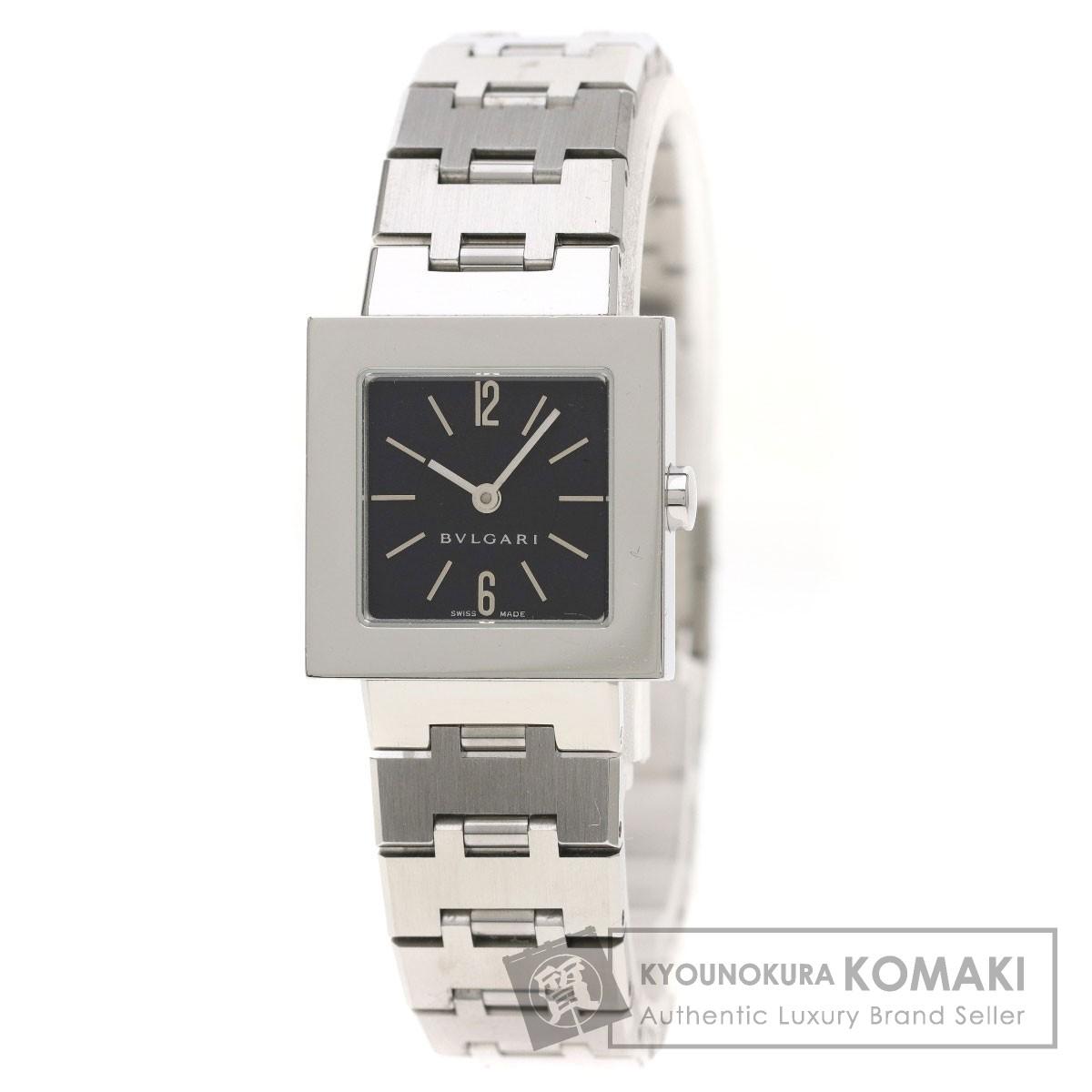 BVLGARI SQ22SS 腕時計 ステンレス レディース 【中古】【ブルガリ】