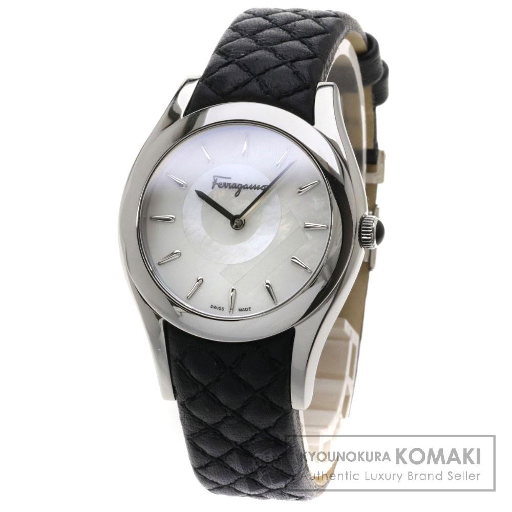 Salvatore Ferragamo FG4060014 リリカ 腕時計 ステンレス/革 レディース 【中古】【サルヴァトーレフェラガモ】