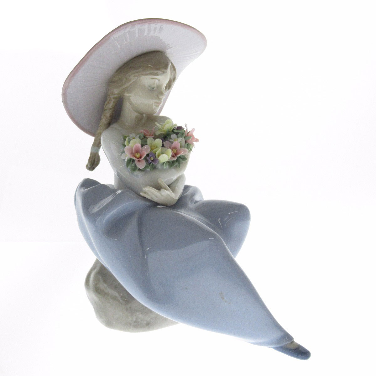Lladro 花の香りに包まれて オブジェ 陶磁器 レディース 【中古】【リヤドロ】