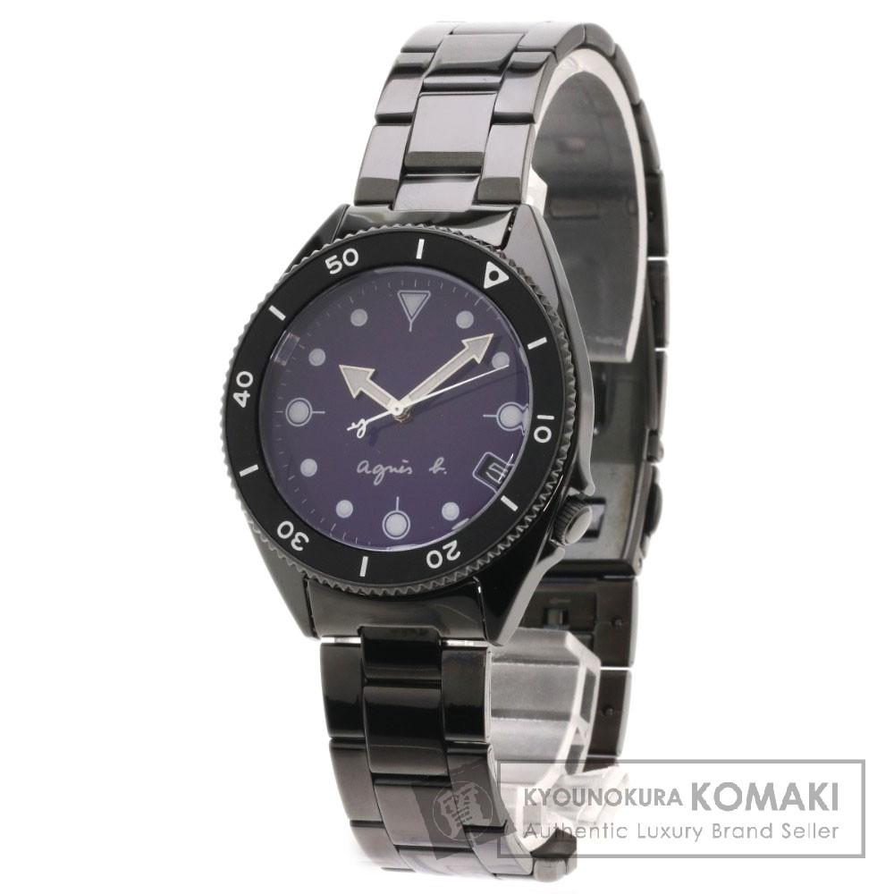 agnes b. V742-8060 腕時計 ステンレス/SS メンズ 【中古】【アニエスベー】