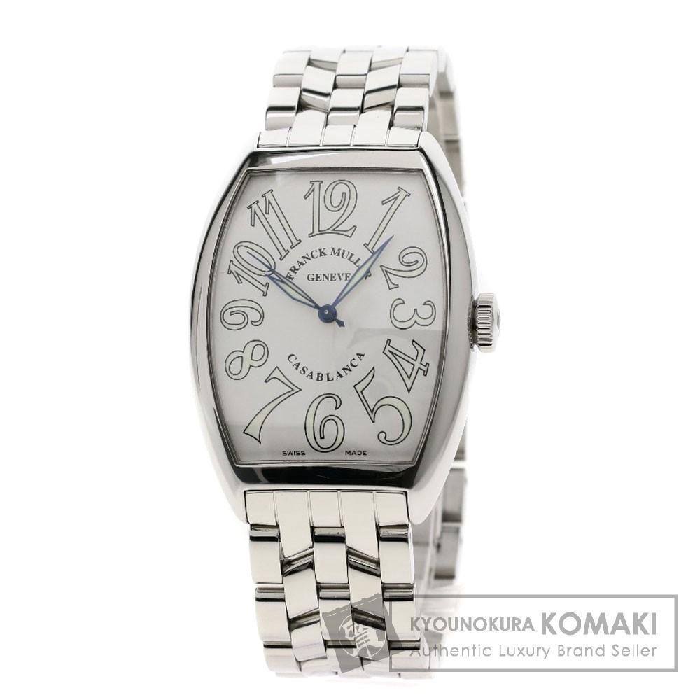 FRANCK MULLER 6850MC カサブランカ 腕時計 OH済 ステンレス メンズ 【中古】【フランクミュラー】