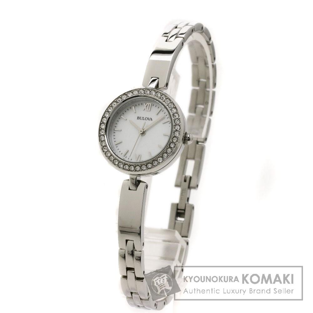 SELECT WATCH 98X107 BULOVA 腕時計 ステンレス レディース 【中古】【セレクトウォッチ】