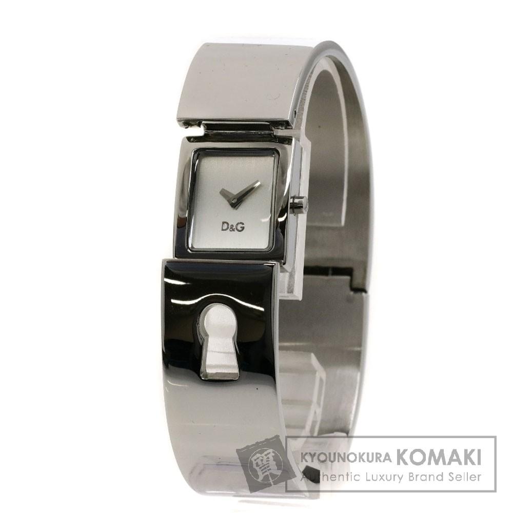 Dolce&Gabbana DW0251 スパイミー バングル 腕時計 ステンレス レディース 【中古】【ドルチェアンドガッバーナ】