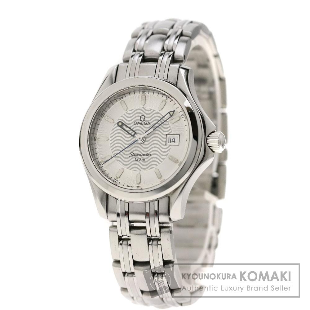 OMEGA 2571.31 シーマスター120M 腕時計 ステンレス レディース 【中古】【オメガ】