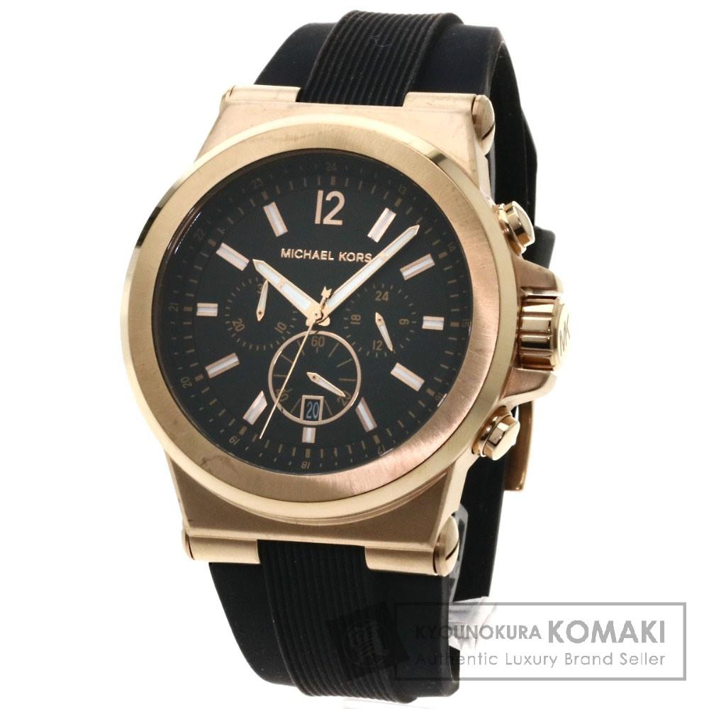 Michael Kors MK8184 腕時計 PGP/ラバー メンズ 【中古】【マイケルコース】
