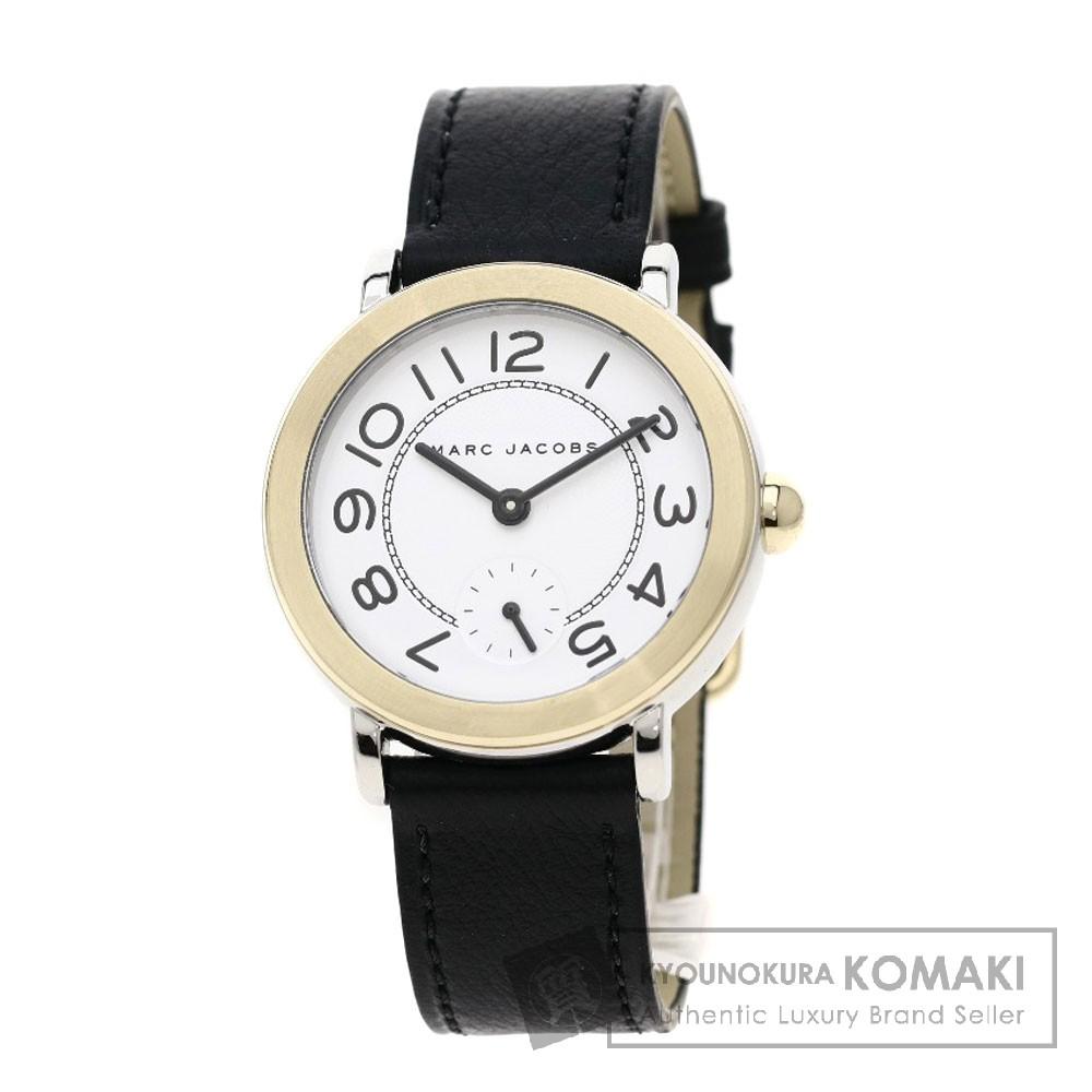 MARC BY MARC JACOBS MJ1514 RELEY 腕時計 ステンレス/革 レディース 【中古】【マークバイマークジェイコブス】