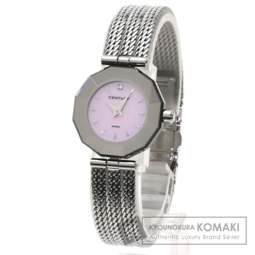 CENTURY タイムジェム 腕時計 ステンレス/SS レディース 【中古】【センチュリー】